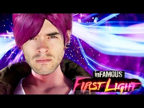 ES HORA DE PATEAR TRASEROS! | Infamous First Light (1) - JuegaGerman