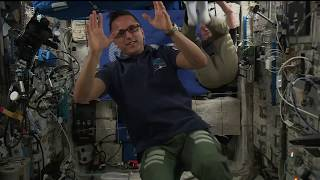 Space Station Crew Marks the 10th Anniversary of the Launching of the European Columbus Module