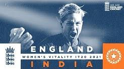 England v India - Highlights Wyatts Wonderful 89 Seals Series 3rd Womens Vitality IT20 2021