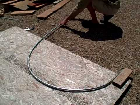 Free Conduit Tubing Bender For Your Garden Hoop Houses And