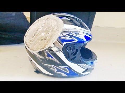 Webtekno Kıramadı: Motosiklet Kaskı Sağlamlık Testi (Kafan Kırılacağına Kask Kırılsın!)