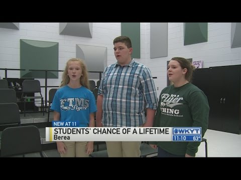 Three Berea middle schoolers ask for help to perform at Carnegie Hall