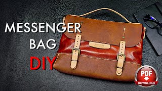 Messenger Bag DIY - Tutorial and Pattern Download