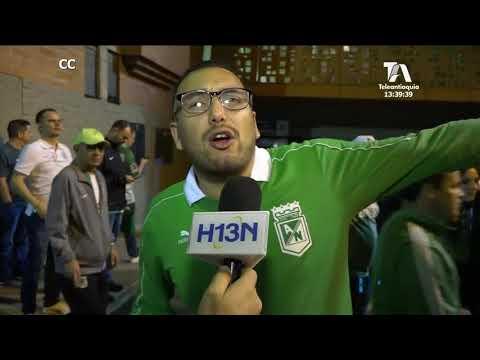 Esta es la Voz del Hincha, luego del partido del Atlético Nacional