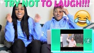 TRY NOT TO LAUGH PART 31!!!! LOSER GETS WATER SPIT ON THEM!!