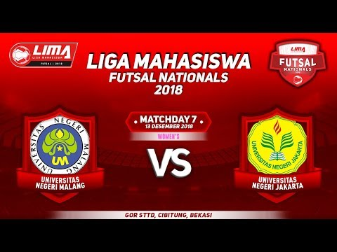 UM VS UNJ WOMEN'S LIMA FUTSAL NATIONALS 2018