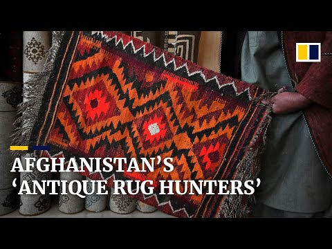'Rug hunters' devote lives to search for Afghanistan's last antique tribal carpets