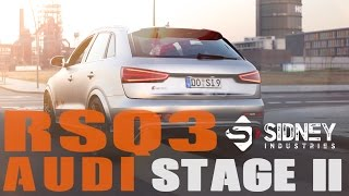 Audi RSQ3 Abgasanlage Stage II by Sidney Industries