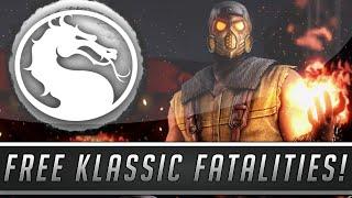 Mortal Kombat X: FREE Klassic Fatalities DLC & Kold War Scorpion Skin/Costume! (Mortal Kombat 10)