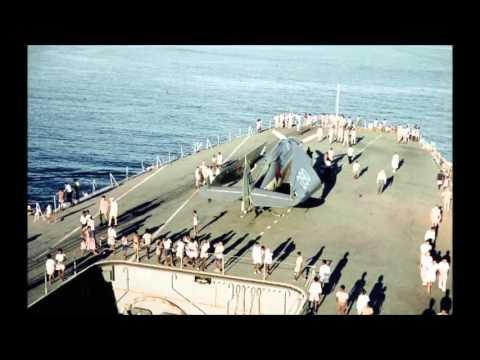 HNLMS Karel Doorman (R81) in HD Color 1963