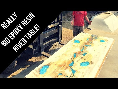 perfect-giant-5k$-table-from-wood-and-epoxy-resin---woodworking-2018