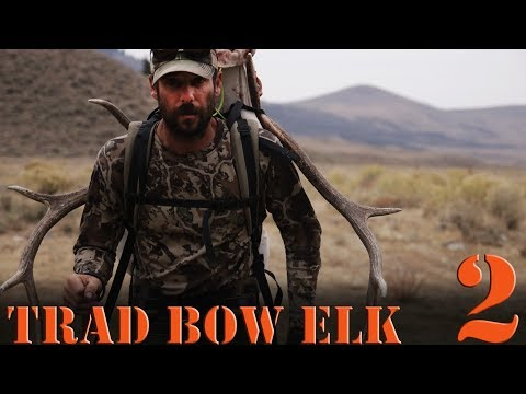 Traditional Bowhunting Elk With Primitive Bow - Part 2