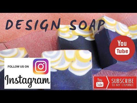 Dancing Funnel Design Soap - Handmade Soap