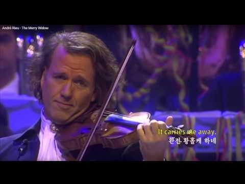 The Merry Widow Waltz with lyrics (즐거운 미망인 왈츠  가사 자막판) English subtitles