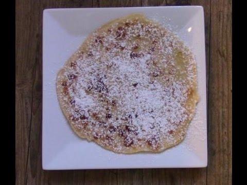 Schneller Pfannkuchenteig Aus Dem Monsieur Cuisine Plus Mc Youtube