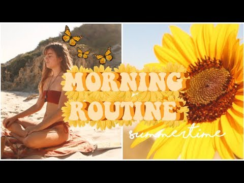 MY SUMMER MORNING ROUTINE | FREYAHALEY