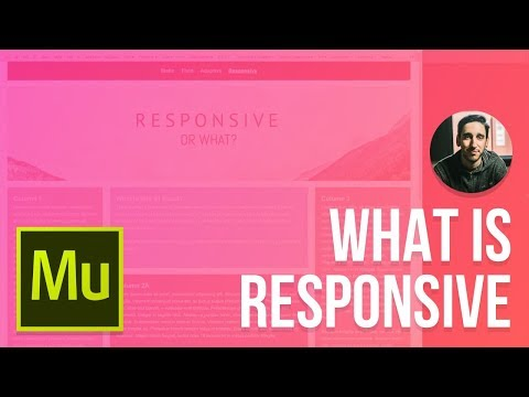 Adobe Muse 2016 Responsive Tutorial | What Responsive Really Means