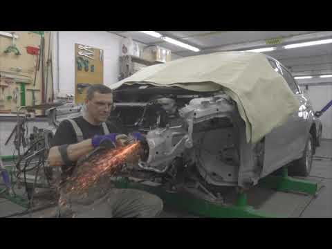 Форд Фокус, полное фиаско. Body Repair After An Accident.