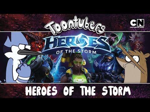 SOMOS MUY VETERANOS EN EL HEROES OF THE STORM | ToonTubers | Cartoon Network