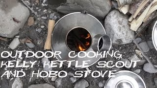 Outdoor Cooking Kelly Kettle + Hobo Review (in German) - Cooking Rice & Water