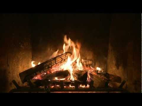 Holiday Yule Log Fireplace Video from CreativeLive