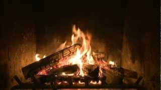 Repeat youtube video Holiday Yule Log Fireplace Video from CreativeLive