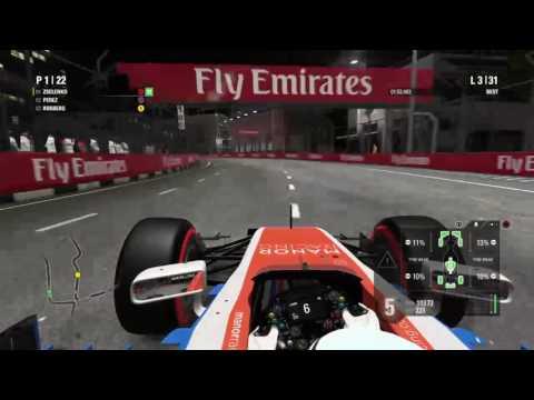 Boozer broadcast F1 2016 Singapore