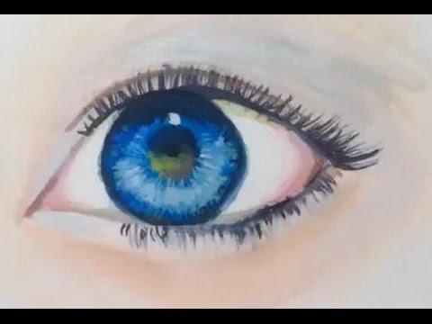 วิธีวาดรูปตา สวยจริงๆ (คลิปเทคนิคการวาดรูปตา)