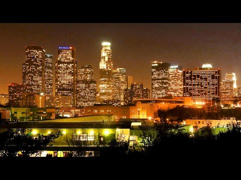 Los Angeles Time Lapse, California, Street Videos of LA Tourist Attractions
