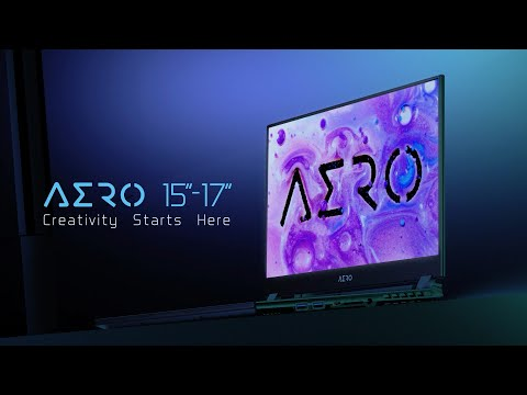 [Product] AERO 15/17 Creator Laptop (2020)