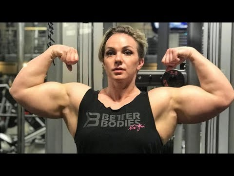 Muscles Girl Motivation | Natasha Workout | Female Bodybuilding Fbb