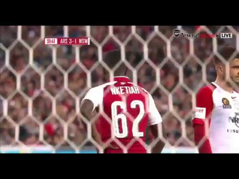 Western Sydney Wanderers vs Arsenal 15/07/2017 Full Match