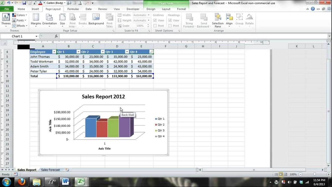 Microsoft Excel Video Tutorial for Beginners #6 (Excel 2013 Excel 2010 ...