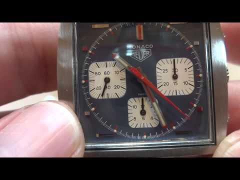 Vintage Heuer Monaco Steve McQueen watch