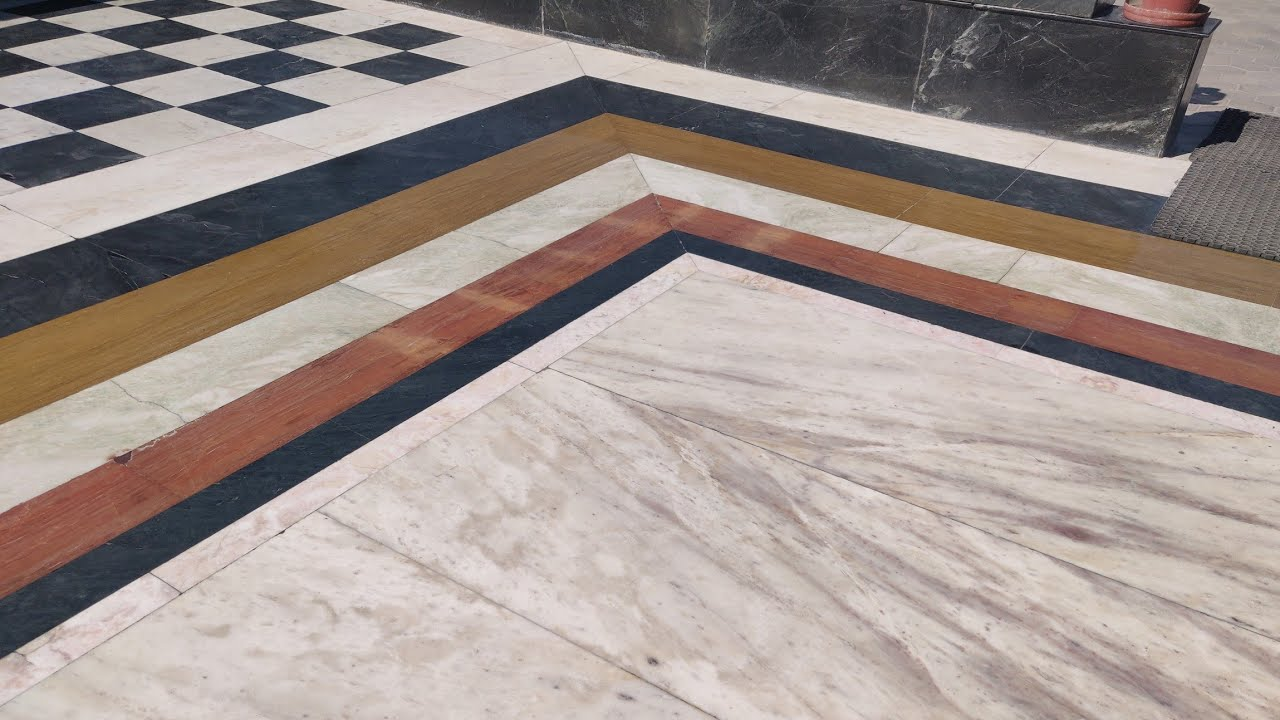 10 color Indian Marble flooring design - YouTube