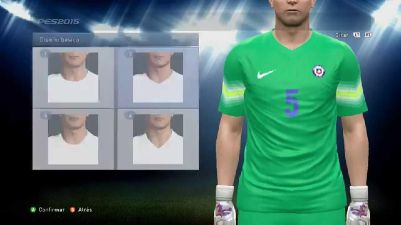 4f30e56707 Kit Chile Portero (Uniforme Nike) PES 2015 - YouTube