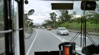 琉球バス交通 辺土名線67系統 前面展望 名護バスターミナル~辺土名バスターミナル