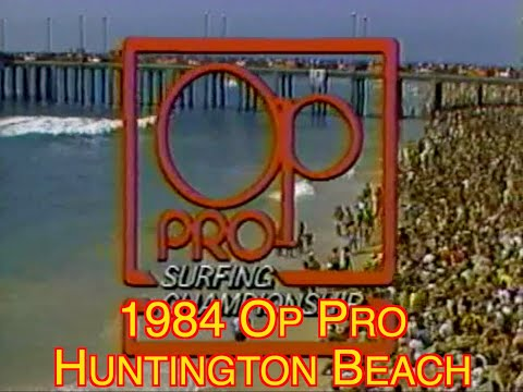 1984 Op Pro Surf HB - Tom Curren VS Cheyne Horan