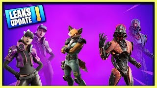 LEAKED SKINS - EMOTES UPDATE 10.10 - Fortnite Daily News (14 août 2019)