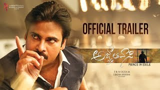 Video Agnyaathavaasi Theatrical Trailer | Pawan Kalyan | Trivikram | Anirudh download MP3, 3GP, MP4, WEBM, AVI, FLV Januari 2018