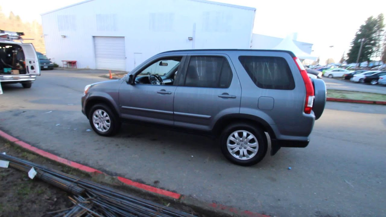 2005 honda cr v se pewter gray 5c008873 redmond for Gray honda crv