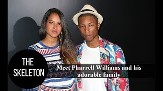 Meet Pharrell Williams and his adorable family
