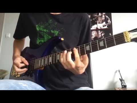 Judas Priest  Battle Cry with Solos Guitar Cover TAB HD