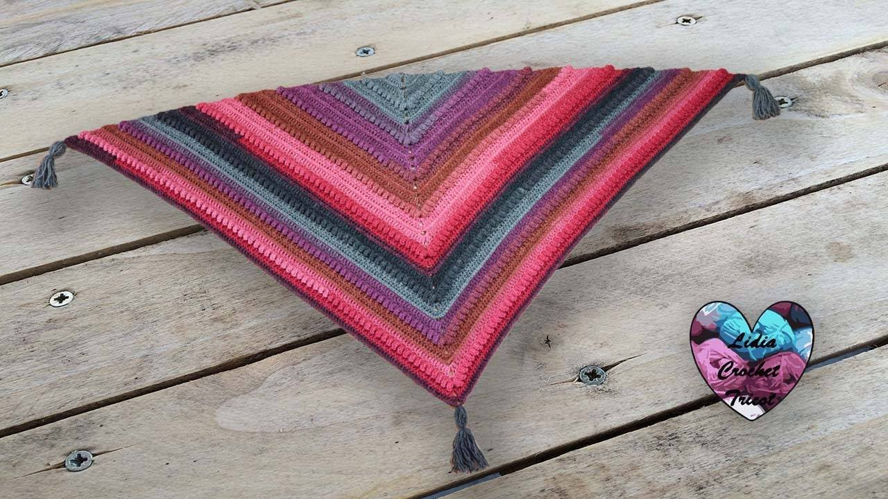 Châle Victoria By Lidia Crochet Tricot Crochet