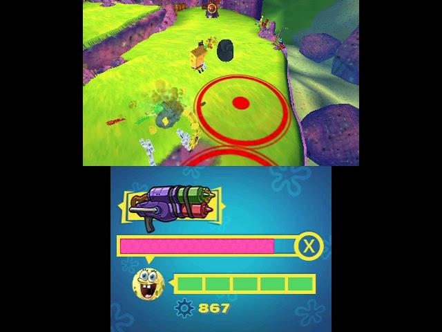 3DS Longplay [046] SpongeBob SquarePants Planktons Robotic Revenge
