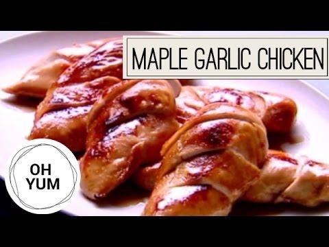 How To Make DIVINE Maple Garlic Roast Chicken!
