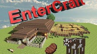 Обзор / Автоматическая ферма говядины #1 / EnterCraft