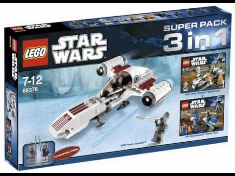 Lego star wars 3 in 1 set youtube - Croiseur interstellaire star wars lego ...