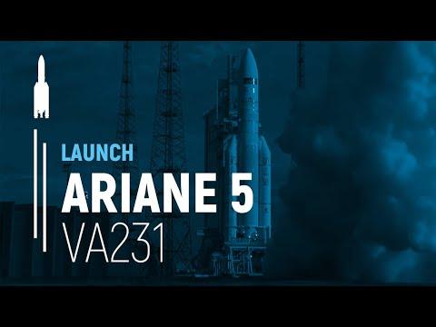 Arianespace Flight VA231 / Sky Muster™ II and GSAT-18