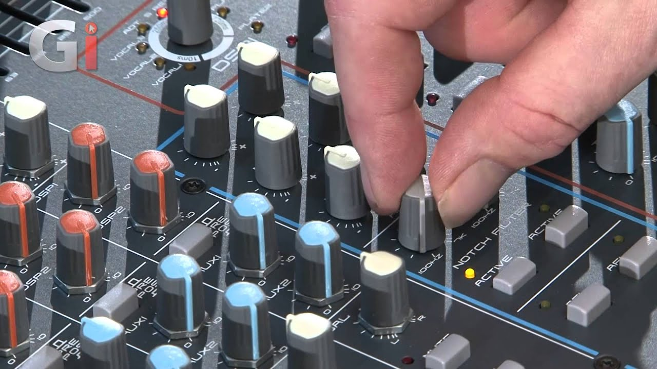 Studiomaster Horizon 2012 powered mixer review